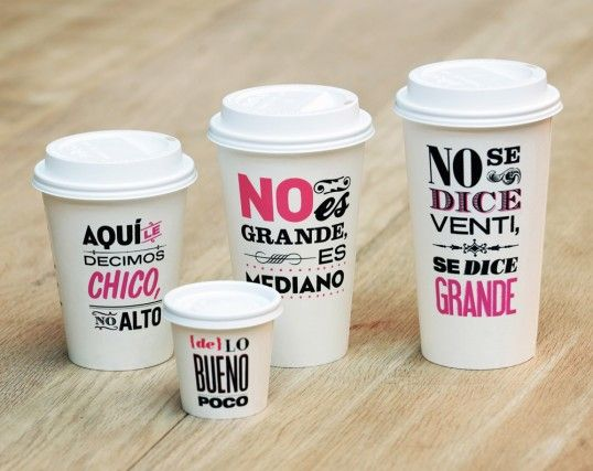 Mexican coffee cups