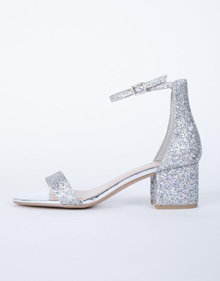Starlight Glitter Heels