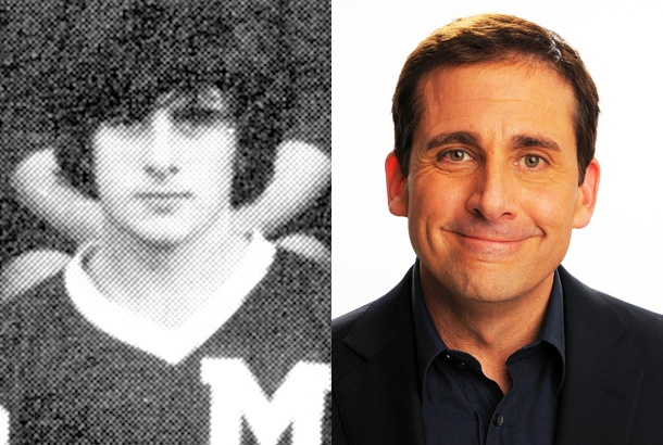 Steve Carell in a 1979 Yearbook Photo
