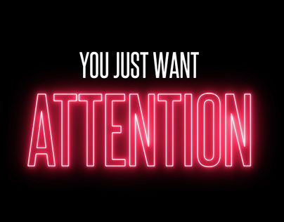 """Check out new work on my @Behance portfolio: """"ATTENTION - Charlie Puth (Kinetic typography)"""" http://be.net/gallery/53044451/ATTENTION-Charlie-Puth-(Kinetic-typography)"""