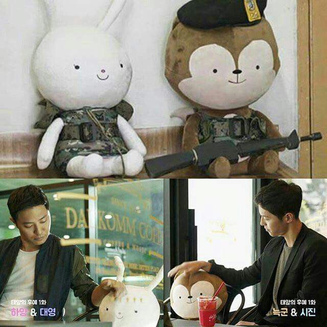 Descendants Of The Sun. The bromance. Best buddies =)
