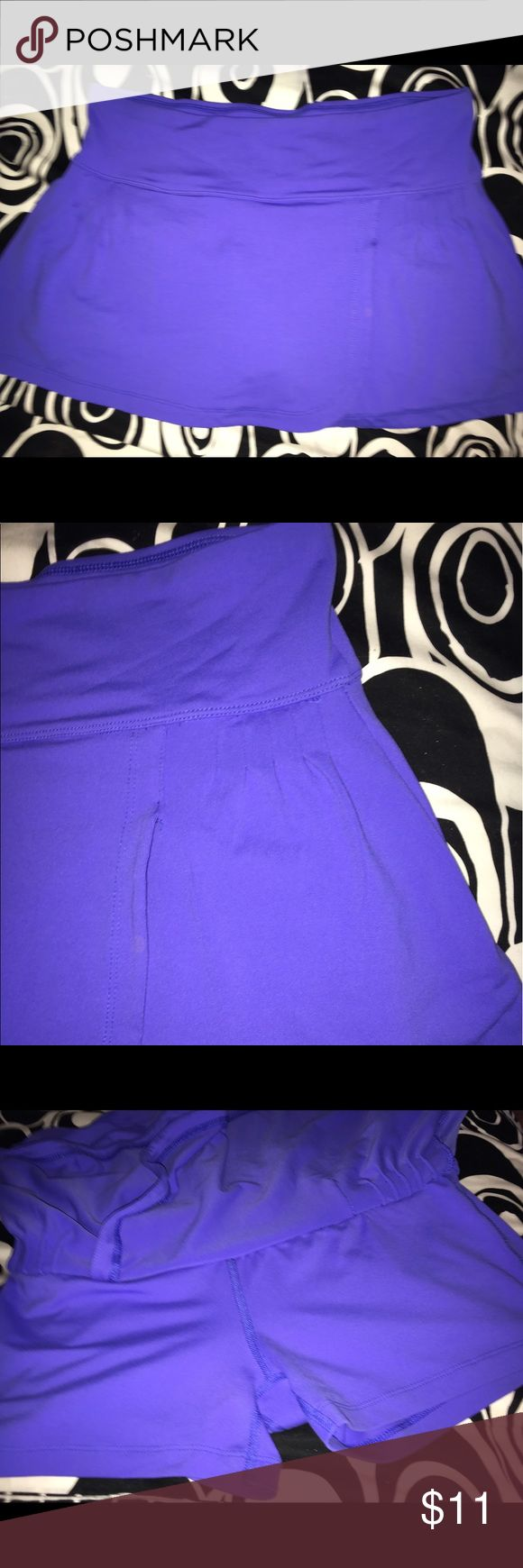💜90 DEGREES BY REFLEX TENNIS SKIRT💜 💜I JUST CAN'T GET MYSELF TO WEAR THIS TO TENNIS...I DON'T KNOW WHY I FEEL FUNNY IN THESE...IT'S JUST ME....SO IT'S NEVER BEEN ON. 90 Degrees By Reflex Skirts Mini