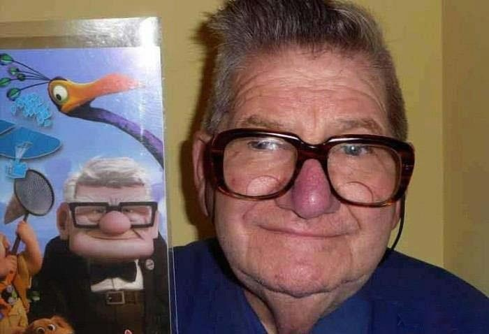 I'm the UP man!  Carl Fredricksen