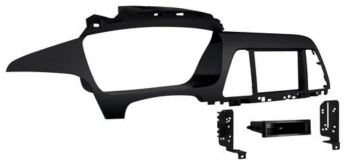 Metra - Dash Kit for 2015 and Later Hyundai Sonata Vehicles - Black