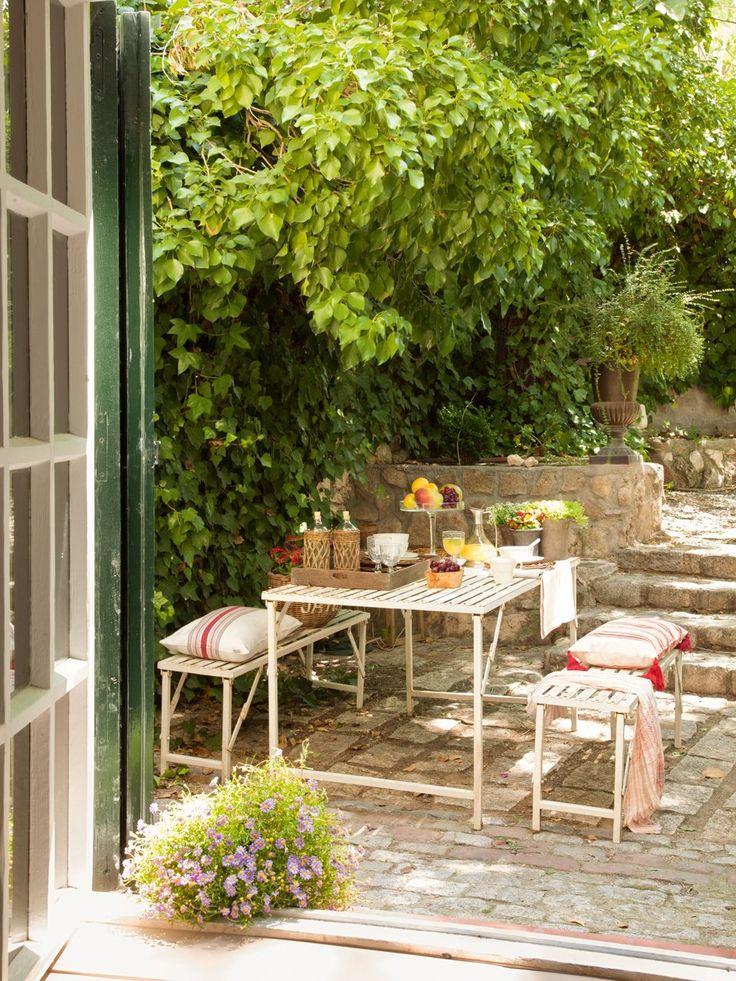 17 mejores ideas sobre mesas de comedor al aire libre en pinterest ...
