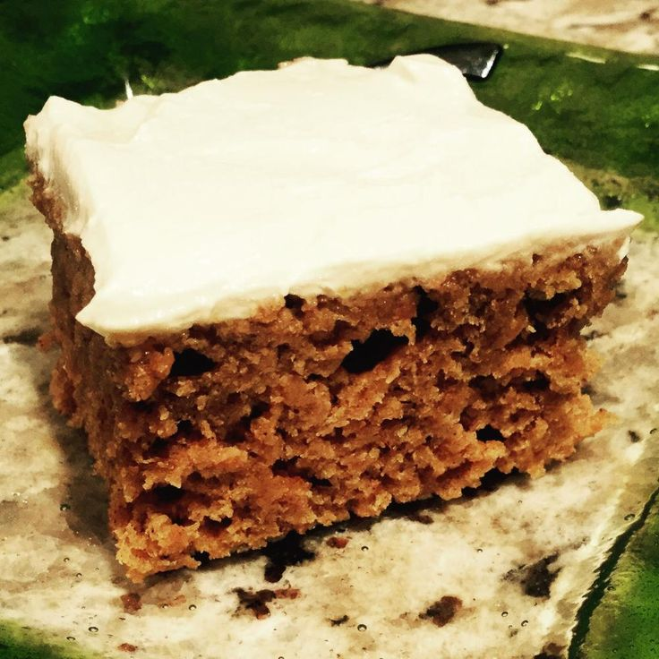 - Pumpkin Spice Cake with Maple Cream Cheese Frosting (low fat, low ...