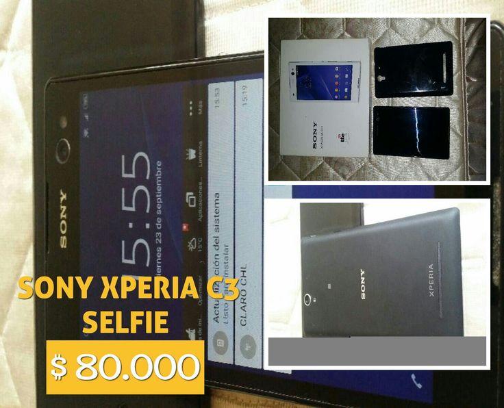 Sony Xperia C3 es un smartphone Android especialmente diseñado para selfies, con una cámara frontal de 5 MP acompañada por un flash LED. El Xperia C3 posee una pantalla 720p de 5.5 pulgadas, procesador quad-core a 1.2GHz, 1GB de RAM, 8GB de almacenamiento, cámara trasera de 8 MP y corre Android 4.4 KitKat. se vende por renovacion con caja, accesorios originales mas carcasa y micro sd de 4gb de regalo
