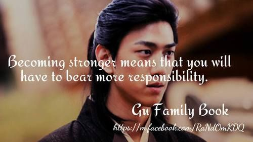 Quotes About Family Drama: 25+ Best Ideas About Gu Family Books On Pinterest
