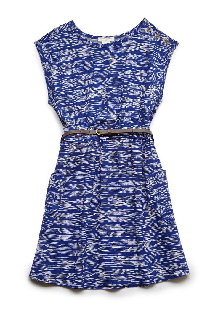 Vibrant Tribal Print Dress (Kids) | FOREVER21 #F21Girls #Juniors