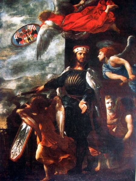 011_Karel_Skreta,_sv._Vaclav_jako_ochrance_Prahy,_1658.JPG (450×600)