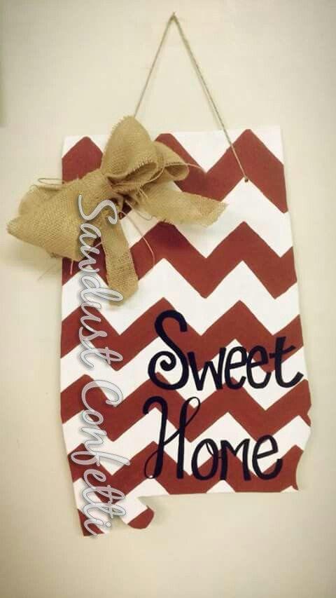 Sweet Home Alabama Door Hanger