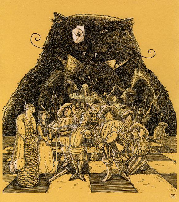 Иллюстрации к «Мастеру и Маргарите»: Зарисовки Беттины Эггер (Bettina Egger)