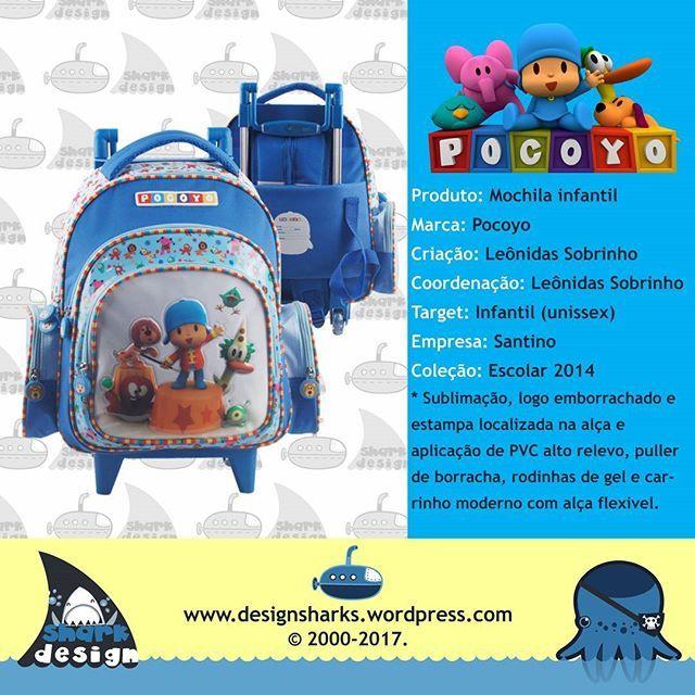 Vamos com o Pocoyo e seus amiguinhos.  #pocoyo #lunchbox #lunchcases #backpack #mochilas #mochiletes #lancheiras #desenho #desenvolvimento #designs #designdigital #design #designer #designproject #designproduct #sharks #tubarao #tubaroes #lugagge #leonidasdesigner #leonidas #sparta #webdesign