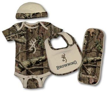 Amazon.com: Browning Baby Camo Set - 4 Piece: Baby Everyone has to get this for there baby if your a redneck family! :)