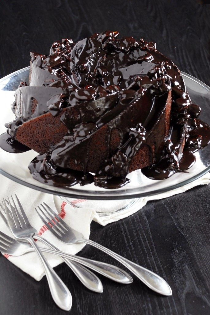 Mexican Chocolate Cake Recipe ~ Bring it to your next gathering and it'll be the talk of the party, so delish!