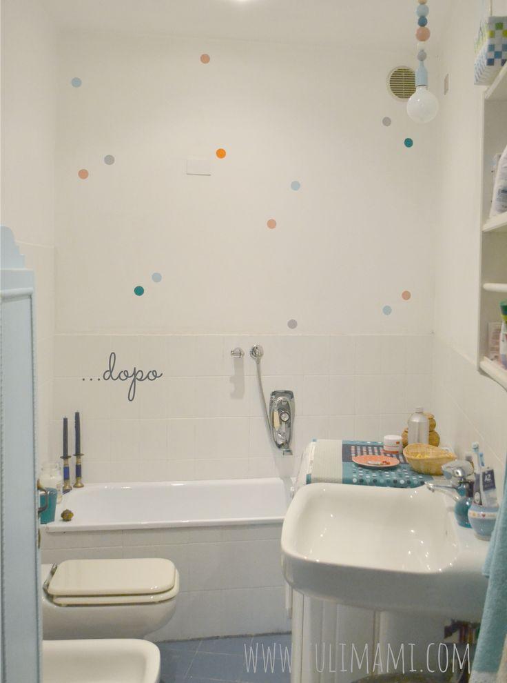 rinnovare il bagno con poca spesa dipingere le piastrelle e piccoli interventi decor