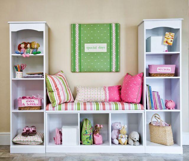 Petit canapé #déco #chambre #enfant #rangement
