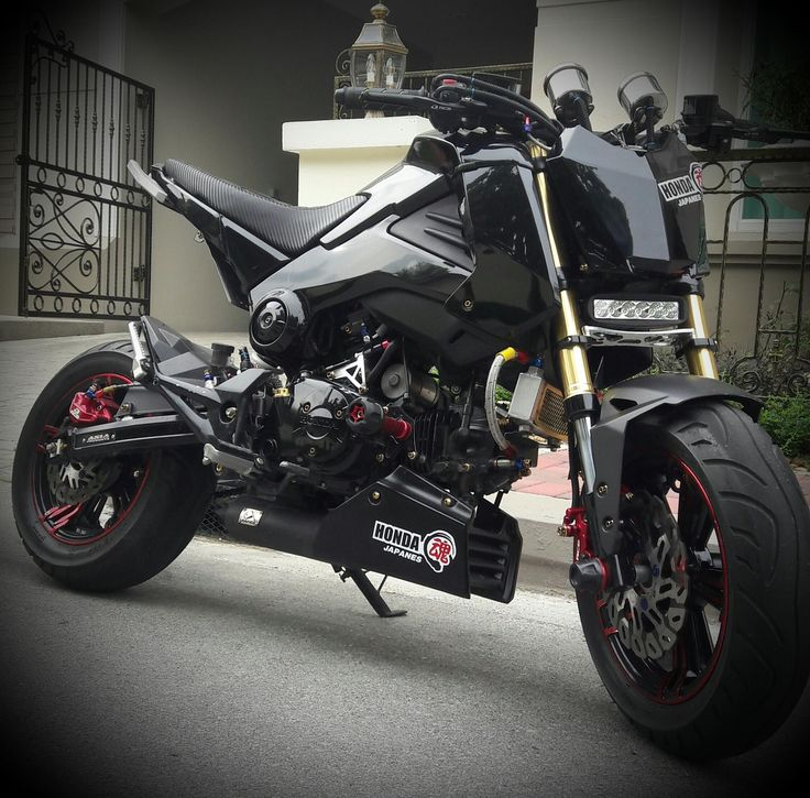 17 Best Images About Honda Grom On Pinterest