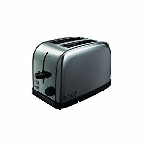 Russell Hobbs 18780 Futura 2 Slice Toaster - Stainless Steel Silver: Amazon.co.uk: Kitchen & Home