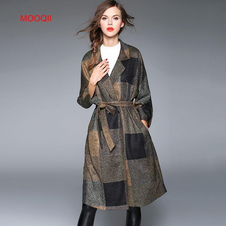 Купить товарMOOQII 2016 женские Пальто Высокого Качества Весна Осень длинный кардиган Пальто Тонкий Моды шерстяной ветровка в категории  на AliExpress.  MOOQII Women Sweaters 2016 Autumn Casual Cardigan Fashion Knitted Plus Size Casual Lovely Ruffles Sweaters Elegant Card