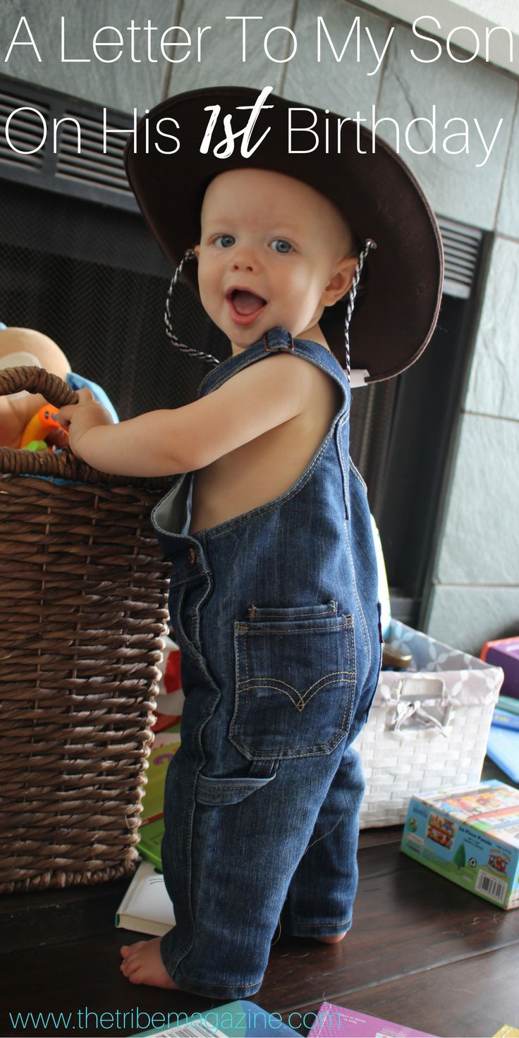 first birthday invitation for my son%0A A letter to my son on his first birthday http   thetribemagazine com