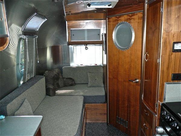 Used Airstream Trailers For Sale Craigslist >> 2007 David Winick Design Airstream interior   Cabins & Airstreams   Pinterest   Interiors ...