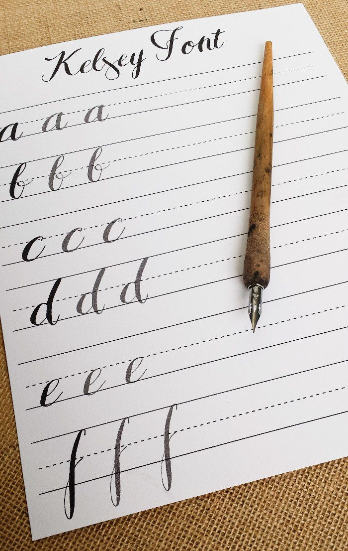 32 Best Calligraphy Images On Pinterest Modern