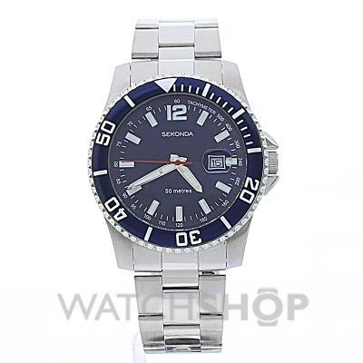 Men's Sekonda Watch (3319) - £22.50 - WATCH SHOP.com™: Sekonda Watches, Watches Shops Com, Watches Shopcom, Watches Fasten, Watches 3319