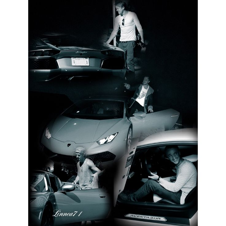 Tom Felton and cars