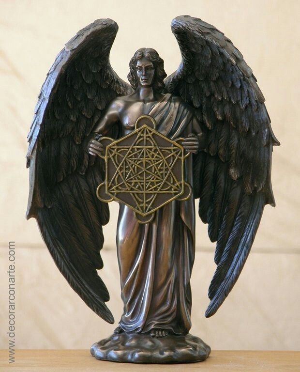 Metatron is known as the angel of life. He guards the Tree of Life and writes down the good deeds people do on Earth.