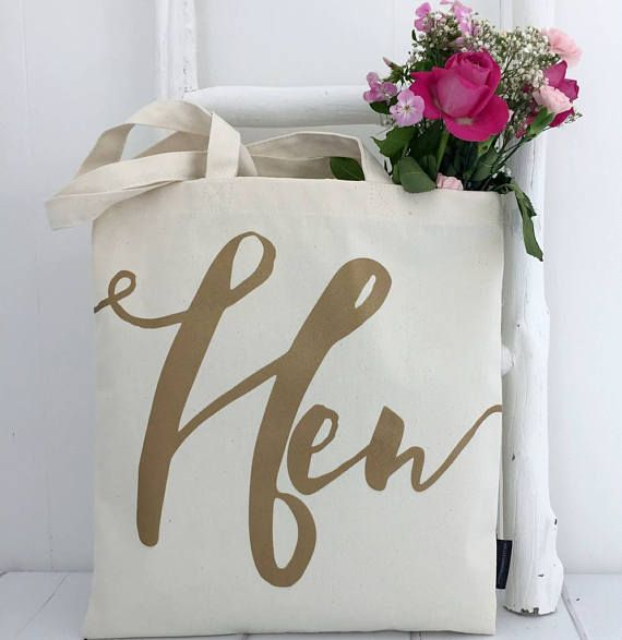 Hen | Hen Bag | Bachelorette Party Bags | Hen Party Bag | Hen Gift