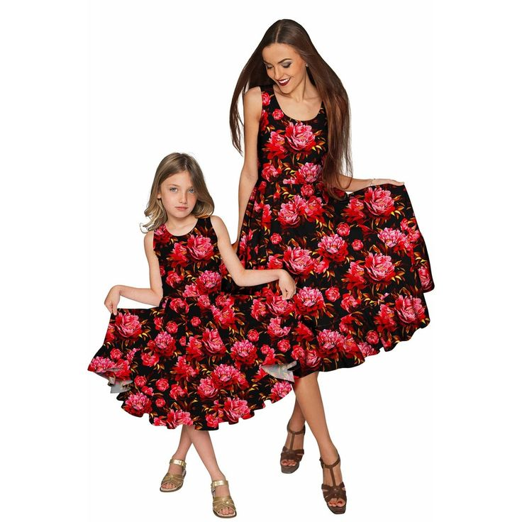 Vendor: Pineapple ClothingType: Women - Apparel - Dresses - EveningPrice: 82.00 - 214.00 (16 variants)  Mother daughter matching dresses rock! Our spectacular one-of-a-kind Vizcaya dress is specially made for women who love twinning with their daughters. It is so chic graceful and charming. Made from the highest quality eco-friendly stretch fabric for a nice fit on different body types. It is an excellent choice for a party wedding or any other festivity. This fancy floral dress will help…