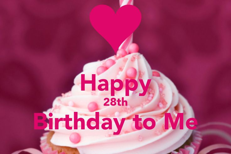 Happy Birthday 28 | Happy 28th Birthday to Me - KEEP CALM AND CARRY ON Image Generator ...