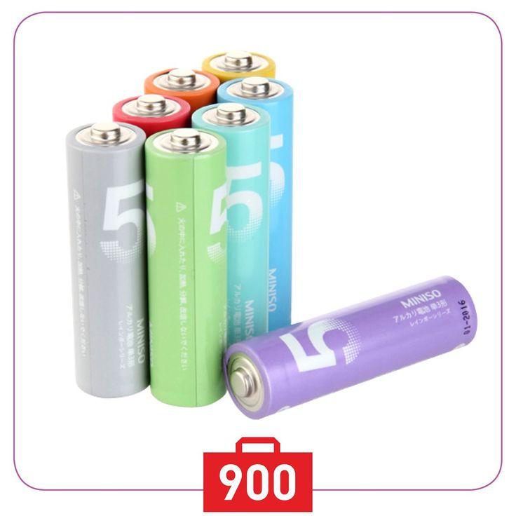 💥Батарейка от #MINISO🇯🇵 - безотказный источник энергии для устройств повседневного пользования💥Особенно эффективны в таких изделиях как плееры💿, фонари🔦, пульты дистанционного управления🎮, фотовспышки📷, часы⏰, диктофоны📲, электронные игрушки🚕, переносные ТВ и т.д✨👍 Набор батареек #miniso- оптимальный выбор для использования в современных приборах😎В упаковке 10 шт💪Всего за 900тг💶 💖Люби жизнь💖 люби #MINISO💖 🚩Mega Silk Way Астана 1 этаж 🚩Молл «Апорт» Алматы ☎️+77273121731…