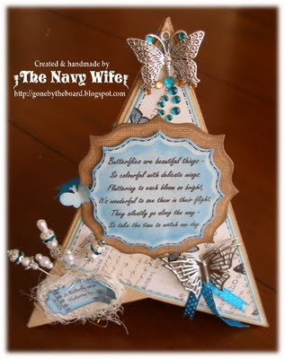 Gone By The Board ~ It's a Navy Wife's life: A TCP Tutorial! - Teepee Card