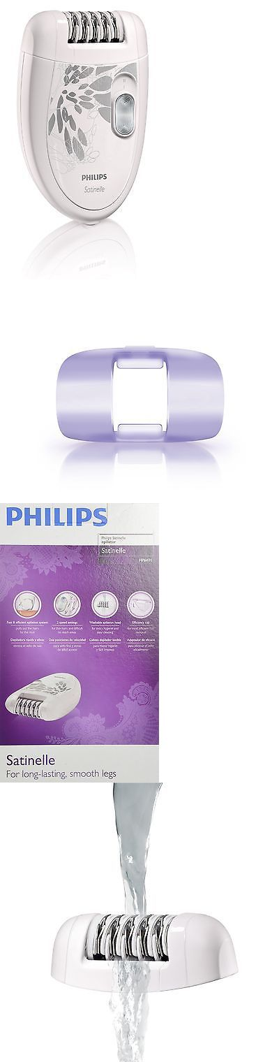 Epilators and Electrolysis: Philips Hp6401 Satinelle Epilator White Gray -> BUY IT NOW ONLY: $46.58 on eBay!
