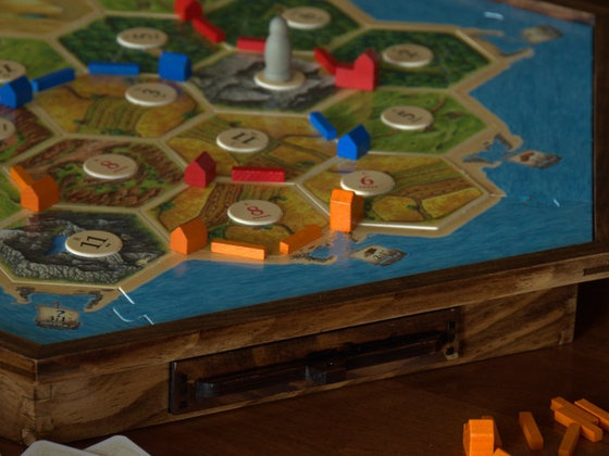 Great Settlers of Catan Accessories... Who doesn't love that game!