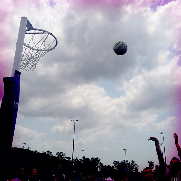 NetFest 2012: Even with the wind this shot went in! #netfest