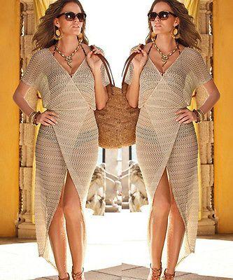 2015-Sexy-Summer-Beach-Boho-Maxi-Dress-Long-Crochet-Bikini-Swimwear-Cover-ups