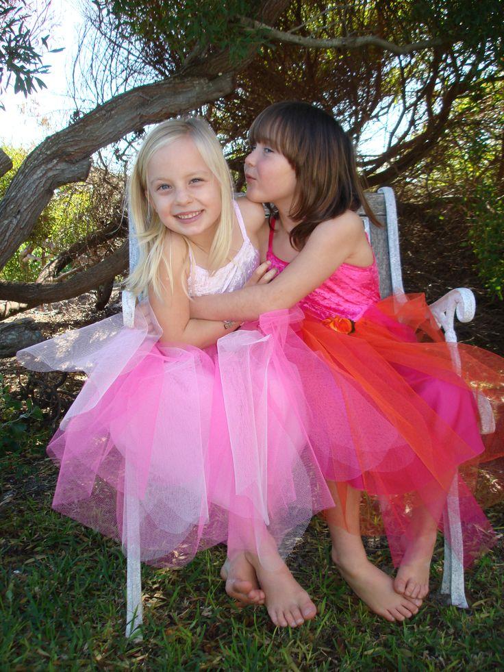 The Rainbow Tulle Dress.