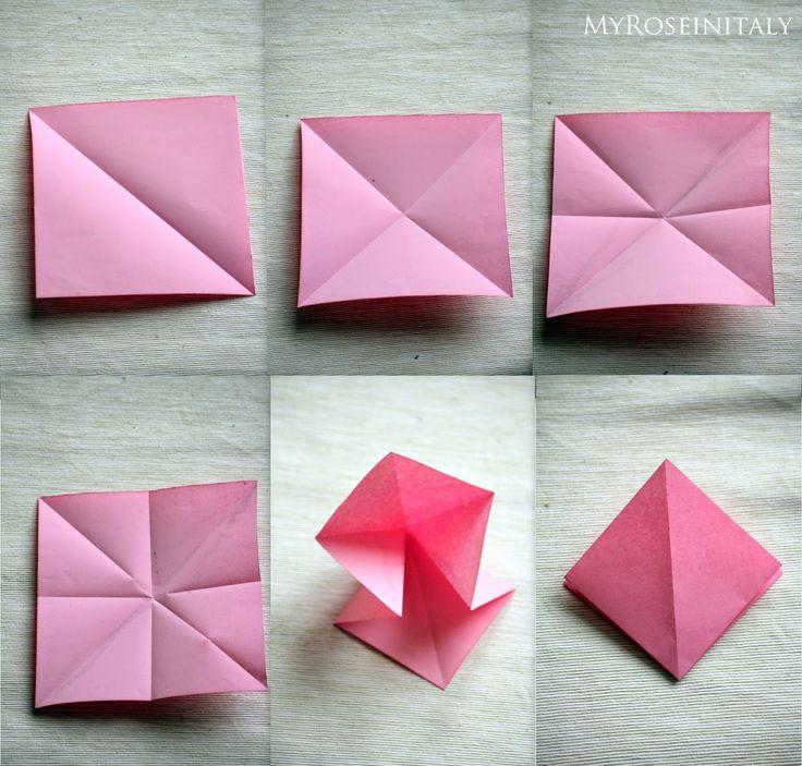 My RoseinItaly: Cuori segnalibro in origami