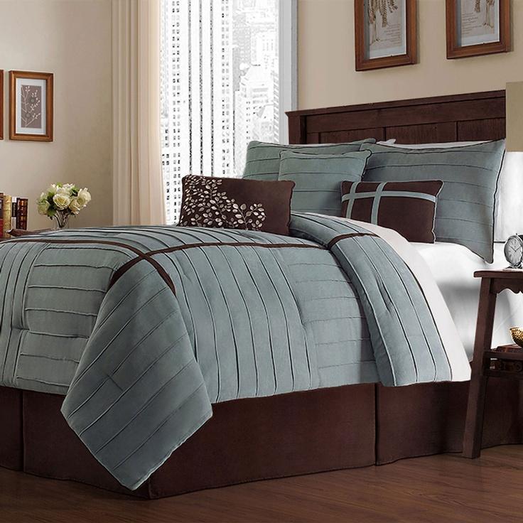 Victoria classics ellington seven piece comforter set for Ellington bedroom set