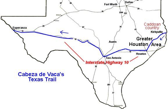 The Journal of Alvar Nunez Cabeza De Vaca - Part 3 of 5 - Texas