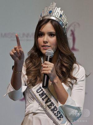 ミス・ユニバース女王、反政府派の招待を辞退 コロンビア
