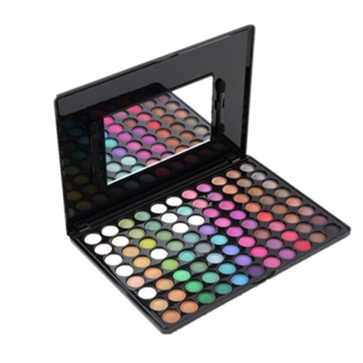 1 stks Pro 88 Kleuren Matte Oogschaduw Palet Fashion Oogschaduw Set met Spiegel oogschaduw glitter oogschaduw palet make