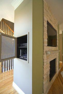 Tv Niche Design Ideas, Pictures, Remodel and Decor