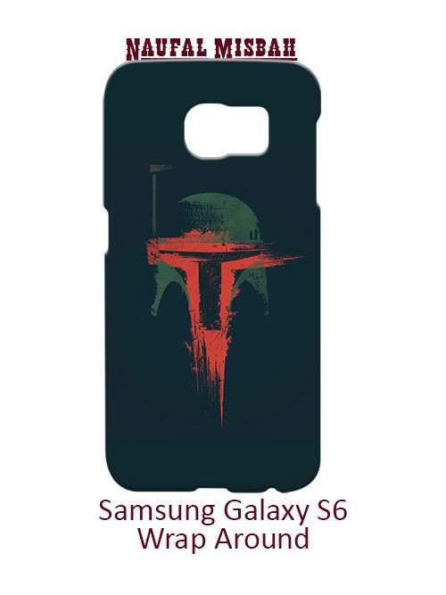 Boba Fett Star Wars Samsung Galaxy S6 Case Cover Wrap Around