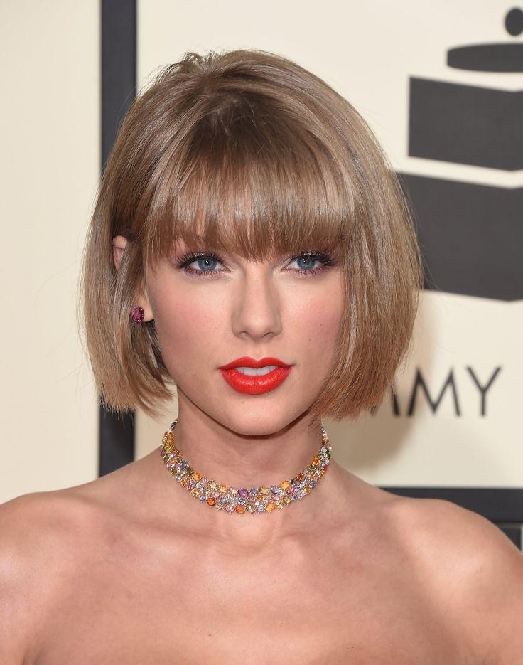 Taylor Swift Short Bob Hair Cabelo Curto