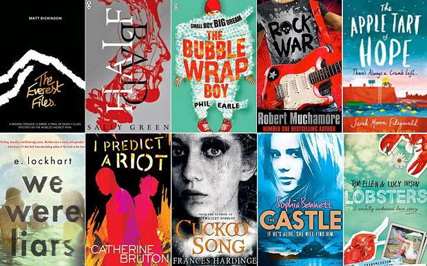 The must-read young adult fiction (YA) and best teen books released in 2014 so far
