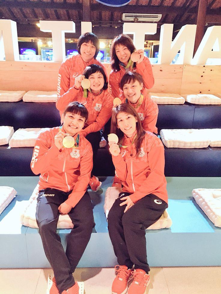 160823 リオのオリンピックが閉幕しました!皆さん、沢山の応援本当にありがとうございました!そして沢山のメッセージもありがとうございました!笑顔で日本に帰ります😊